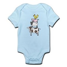 Farm Pyramid Infant Bodysuit