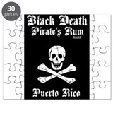Black Death Pirate Rum Puzzle