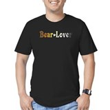Bear Lover Black T-Shirt T-Shirt