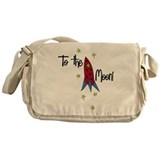 To The Moon Messenger Bag