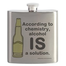 Alcohol Solution Flask