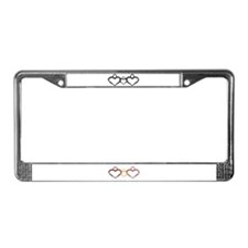 Foster care License Plate Frame