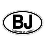 BJ Bailiwick of Jersey Decal