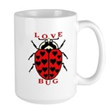 Love Bug Ceramic Mugs