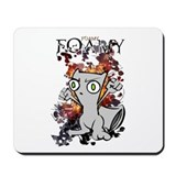 Squirrely Wrath Mousepad