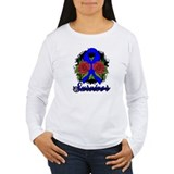 Anal Cancer Survivor Rose Tattoo T-Shirt