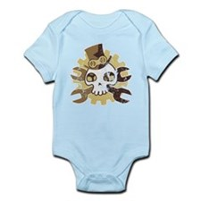 Steampunk Tötenschädel (used) Infant Bodysuit