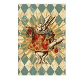 white-rabbit-vintage_12x18.jpg Postcards (Package