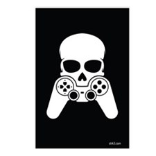 Skull & Joystick Postcards (Package of 8)