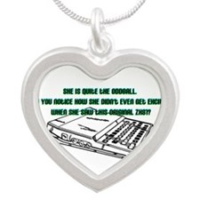 zx81.png Silver Heart Necklace