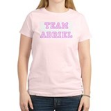 Pink team Adriel Women's Pink T-Shirt