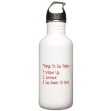Things To Do Today Water Bottle