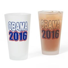 Obama 2016 Drinking Glass