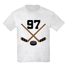 Hockey Player Number 97 T-Shirt