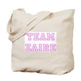 Pink team Zaire Tote Bag