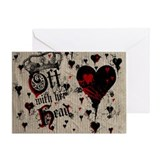 off-with-her-head_9x12.jpg Greeting Card