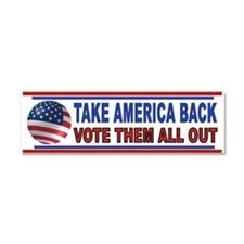 VOTE THEM OUT Car Magnet 10 x 3
