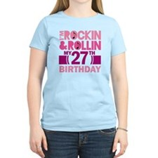 27th Birthday rock and roll T-Shirt