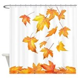Falling Foliage Shower Curtain