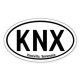Knoxville, Tennessee Oval Decal