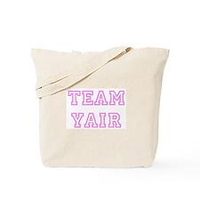 Pink team Yair Tote Bag