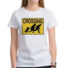 Illegal Alien Crossing Sign Tee
