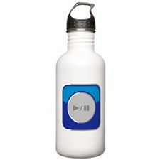 Start/Pause-Symbol Water Bottle