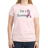 I'm a Survivor Women's Pink T-Shirt