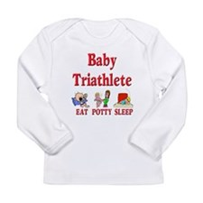 Baby Triathlete Long Sleeve T-Shirt