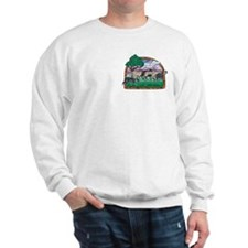 BC (Tri) & Sheep Sweatshirt, Pocket