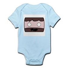 Minecraft Man Infant Bodysuit