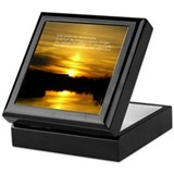 Serenity Sunset Keepsake Box
