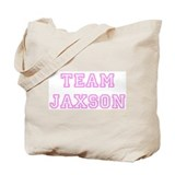 Pink team Jaxson Tote Bag