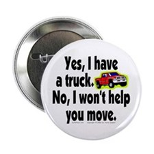 "Yes/No Truck. 2.25"" Button (100 pack)"