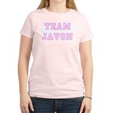 Pink team Javon Women's Pink T-Shirt