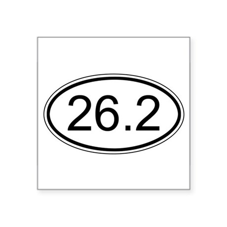 26.2 Euro Decal Sticker