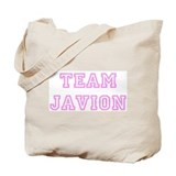 Pink team Javion Tote Bag