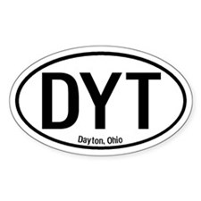 Dayton, Ohio Oval Decal