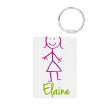 Elaine-cute-stick-girl.png Keychains