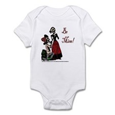 Abby Normal Valentine Infant Bodysuit