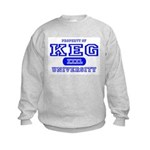 Keg University Property Kids Sweatshirt