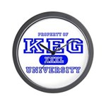 Keg University Property Wall Clock