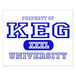Keg University Property Small Poster