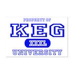 Keg University Property Mini Poster Print