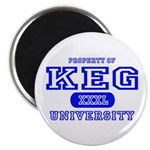 Keg University Property Magnet