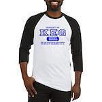 Keg University Property Baseball Jersey