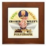 Clinton Polygraph Framed Tile