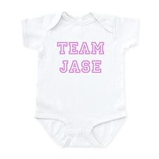Pink team Jase Infant Bodysuit