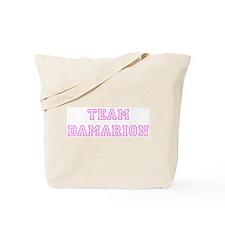 Pink team Damarion Tote Bag
