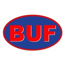 Buffalo, New York Oval Bumper Stickers